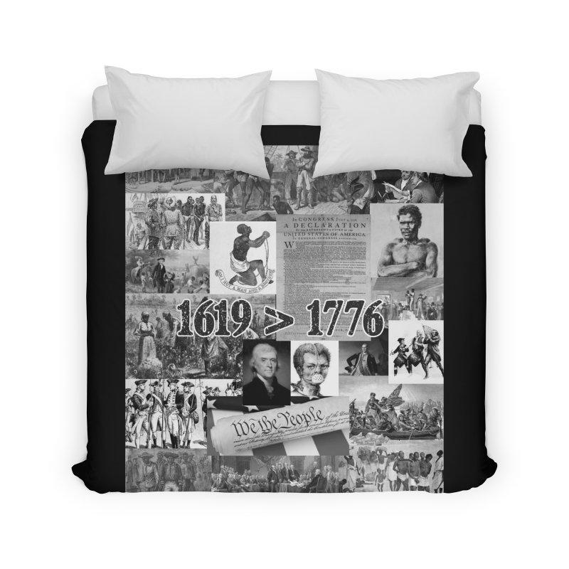 1619 > 1776 Home Duvet by Carlos E Mendez Art - Featured Design (CLICK HERE)