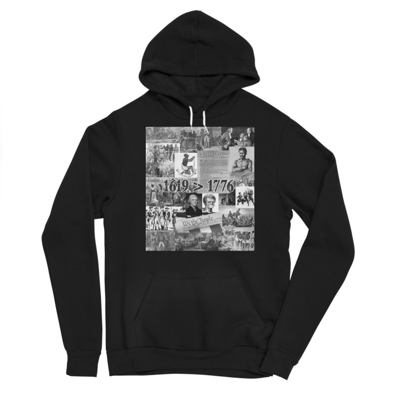 1619 > 1776 Men's Pullover Hoody by Carlos E Mendez Art - Featured Design (CLICK HERE)