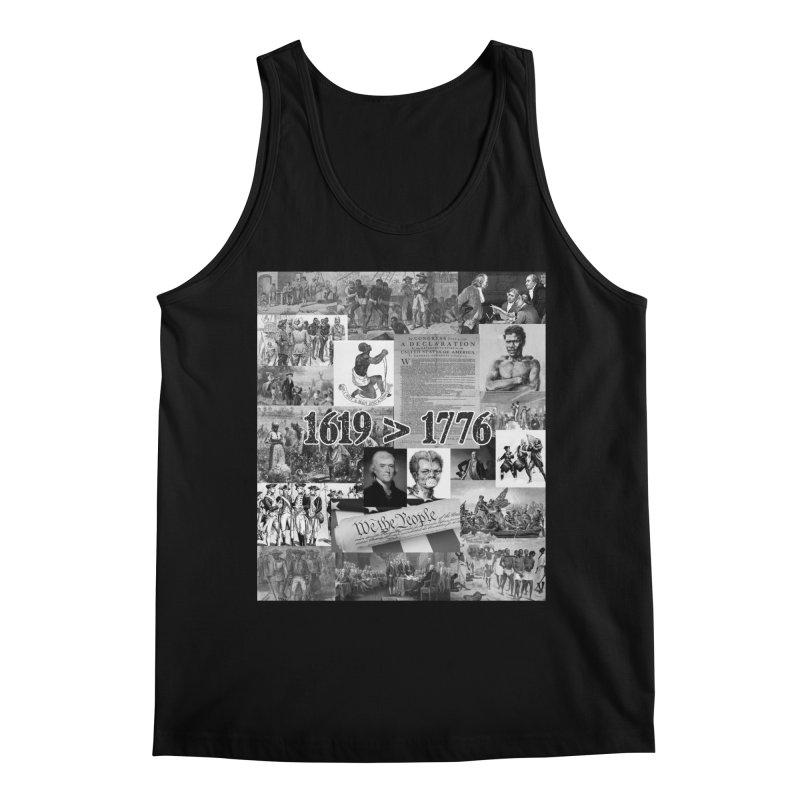 1619 > 1776 Men's Tank by Carlos E Mendez Art - Featured Design (CLICK HERE)
