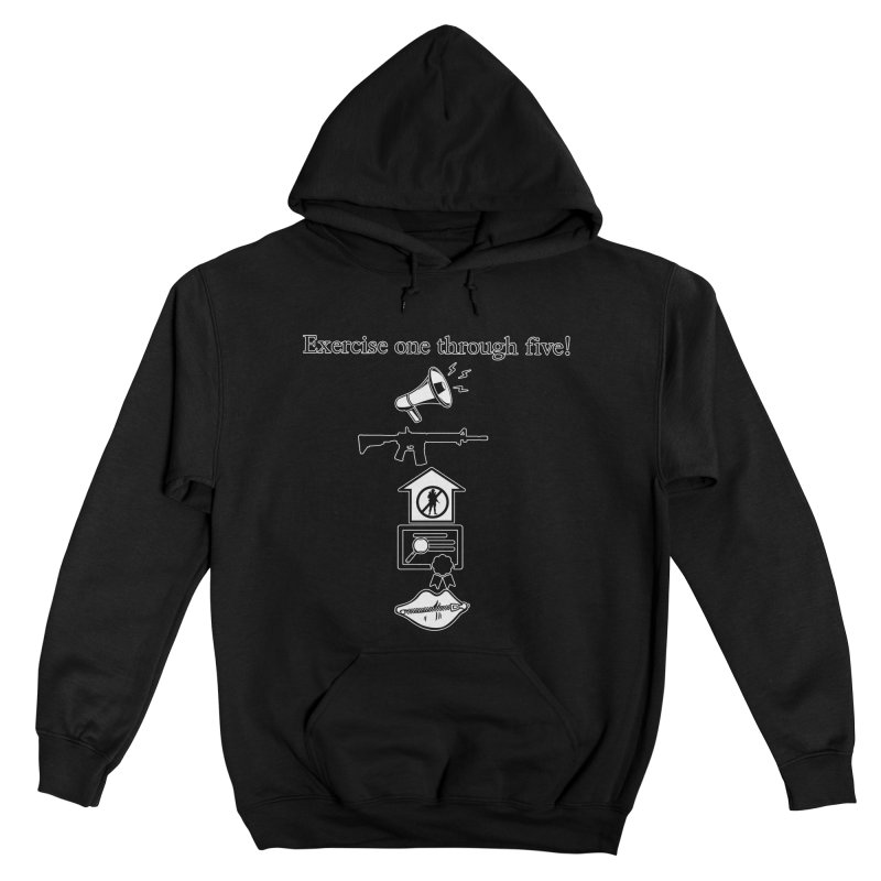 Excercise One through Five Men's Pullover Hoody by Carlos E Mendez Art - Featured Design (CLICK HERE)