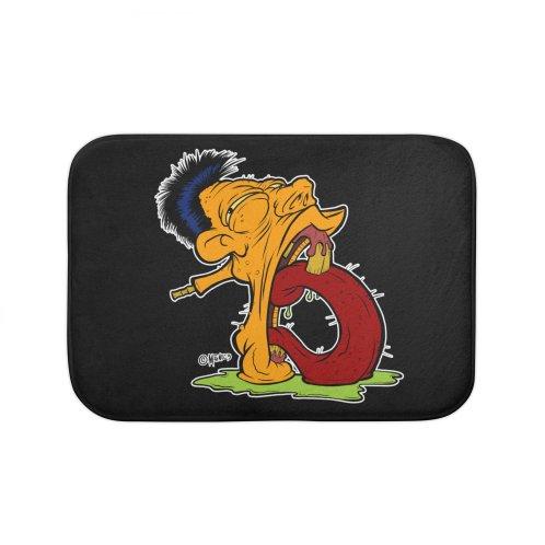 "image for Grotesque Alphabet Letter ""B"" Orange by Carlos E Mendez"