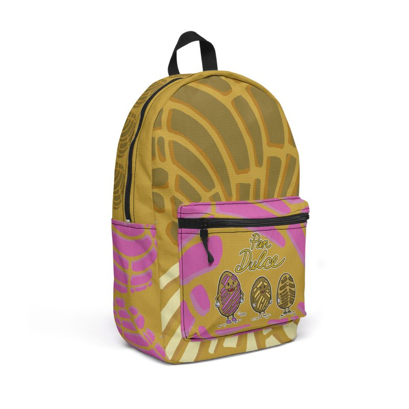 Pan Dulce Accessories Bag by Carlos E Mendez Art - Featured Design (CLICK HERE)