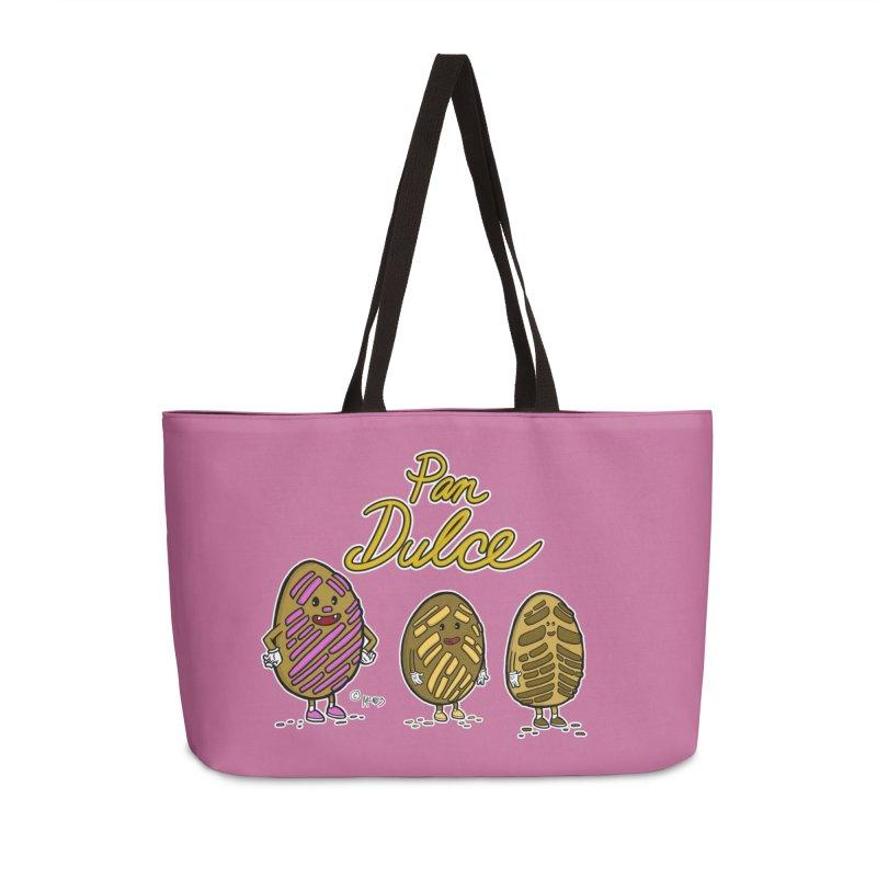 Pan Dulce Accessories Bag by Carlos E Mendez Art