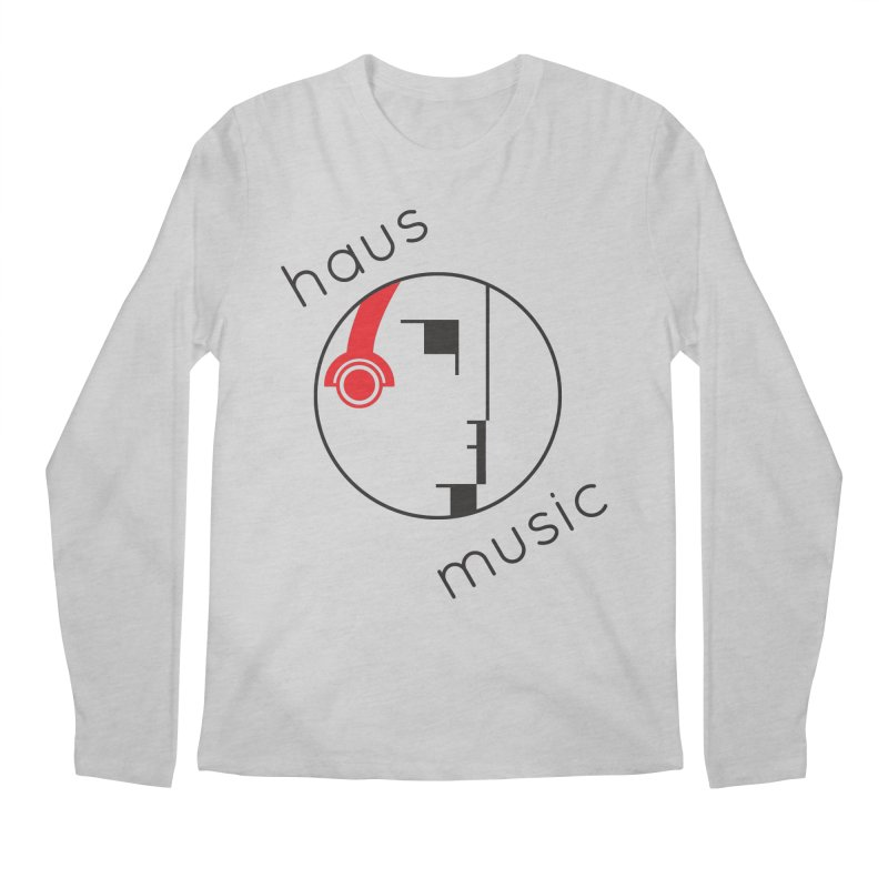 haus music Men's Longsleeve T-Shirt by Carlos Villamil's Artist Shop