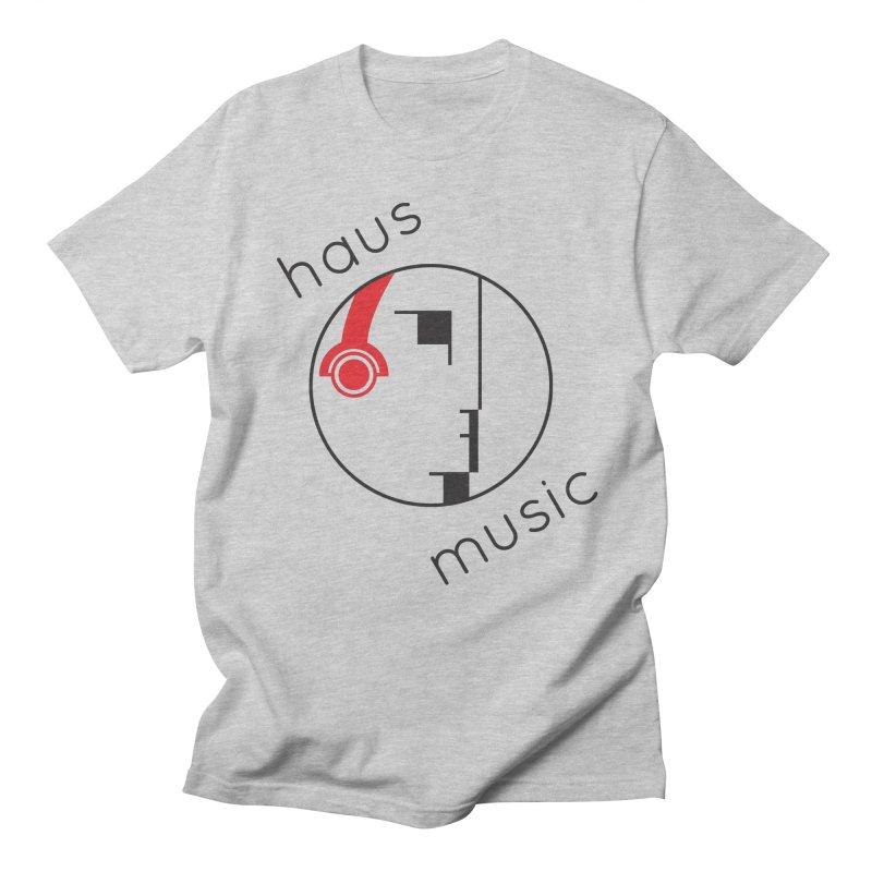 haus music Men's T-Shirt by Carlos Villamil's Artist Shop