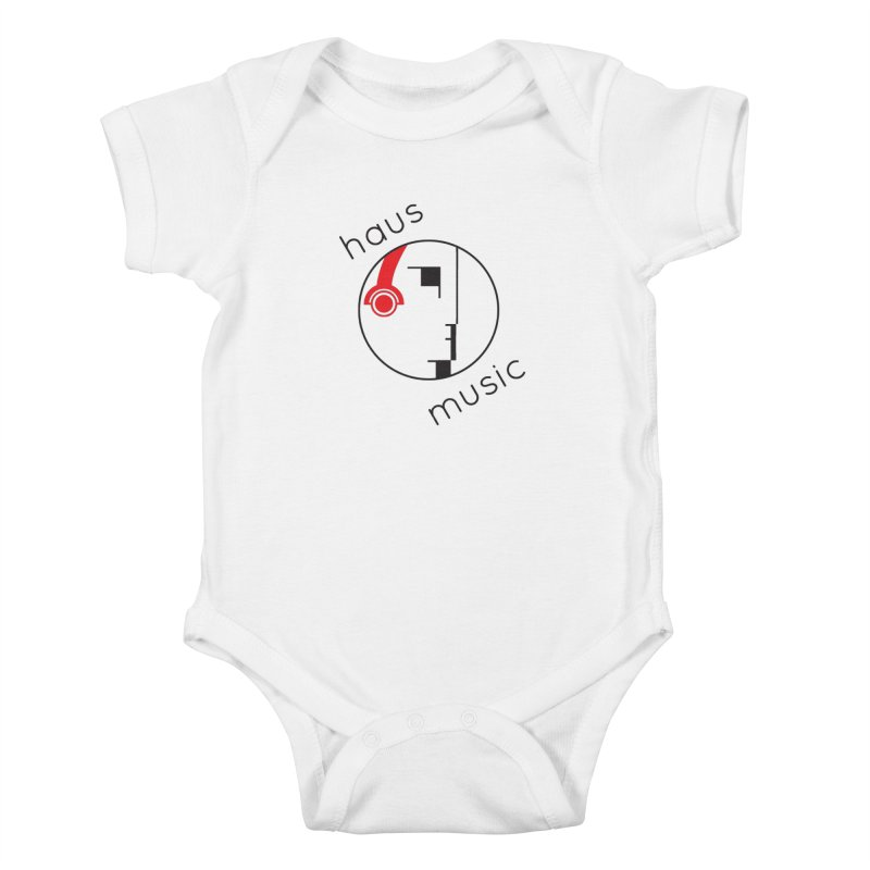 haus music Kids Baby Bodysuit by Carlos Villamil's Artist Shop
