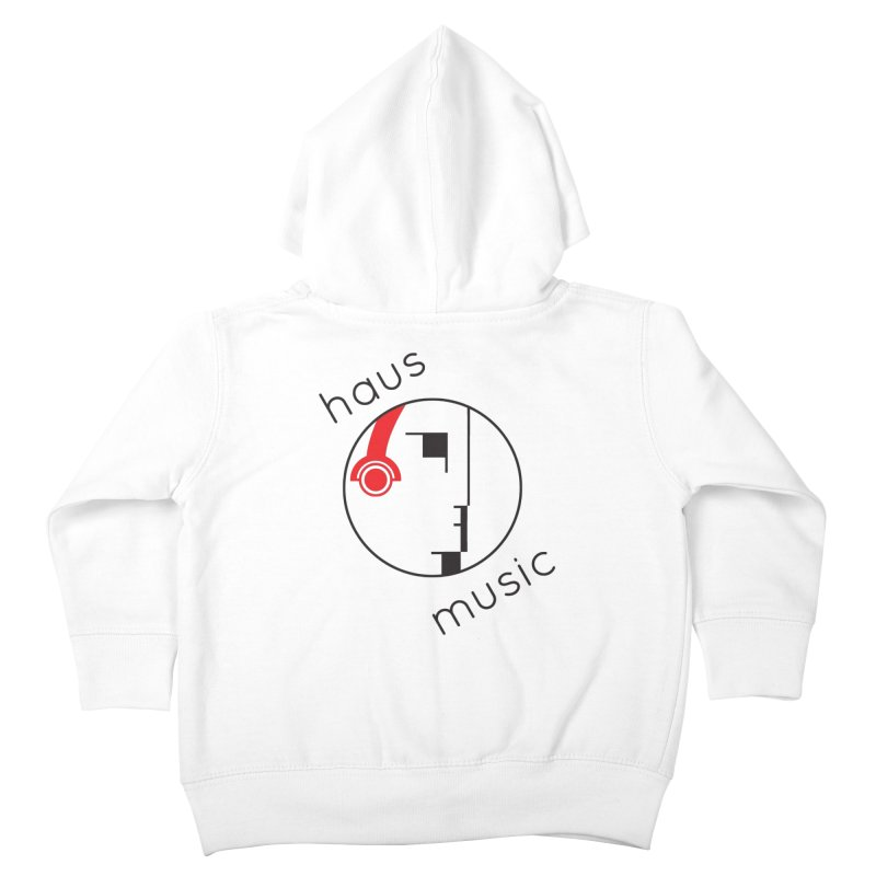 haus music Kids Toddler Zip-Up Hoody by Carlos Villamil's Artist Shop