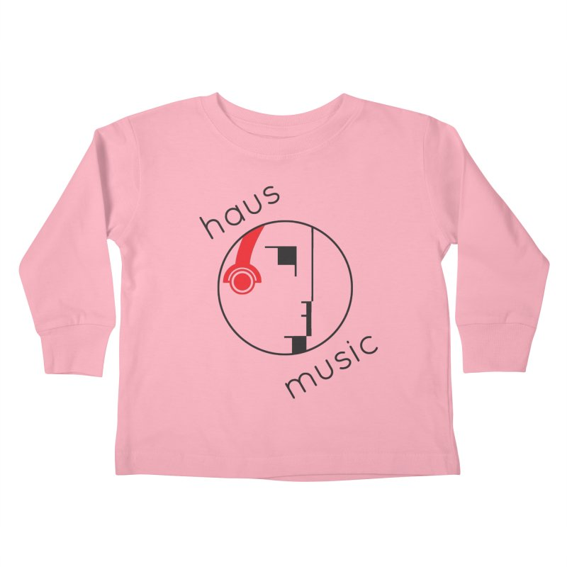 haus music Kids Toddler Longsleeve T-Shirt by Carlos Villamil's Artist Shop