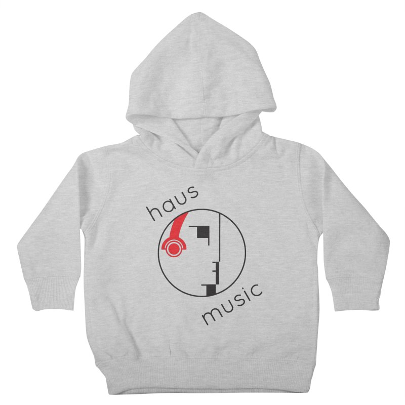 haus music Kids Toddler Pullover Hoody by Carlos Villamil's Artist Shop