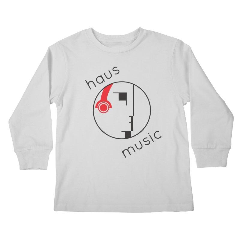 haus music Kids Longsleeve T-Shirt by Carlos Villamil's Artist Shop