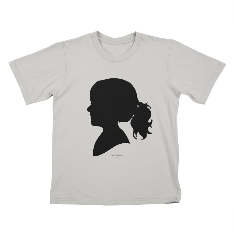 Annie Carlson Kids T-Shirt by Billy Carlson