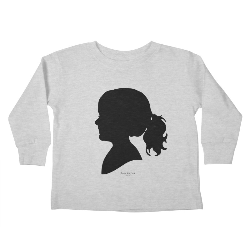 Annie Carlson Kids Toddler Longsleeve T-Shirt by Billy Carlson