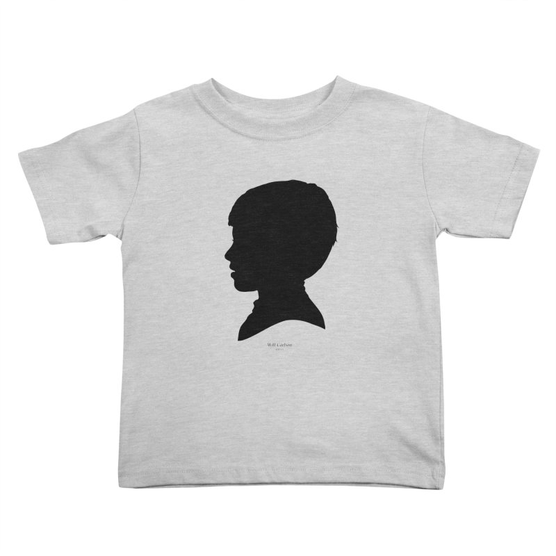 Will Carlson Kids Toddler T-Shirt by Billy Carlson