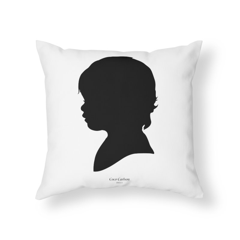 Coco Carlson Home Throw Pillow by Billy Carlson