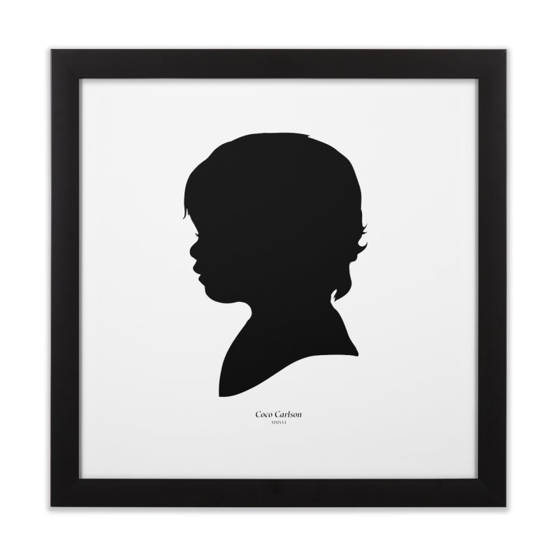 Coco Carlson Home Framed Fine Art Print by Billy Carlson