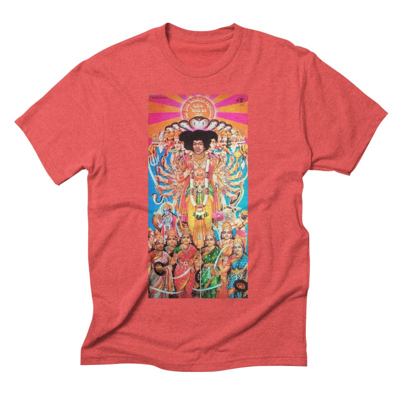 AXIS: BOLD AS LOVE Men's Triblend T-Shirt by Billy Carlson