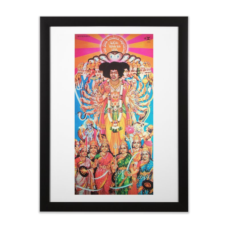 AXIS: BOLD AS LOVE Home Framed Fine Art Print by Billy Carlson