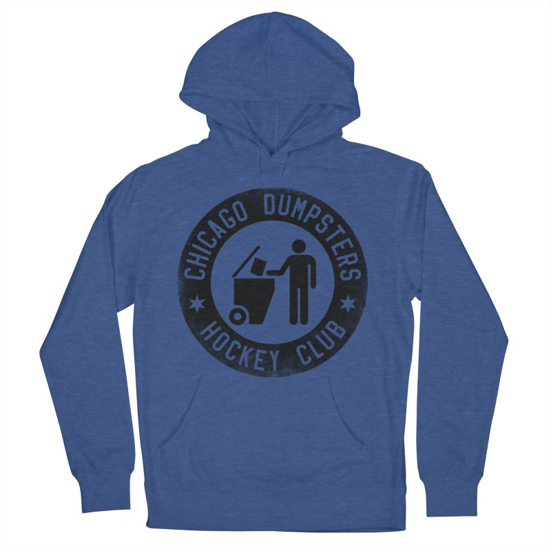 Dumpster Hockey 4 Life Men's Pullover Hoody by Billy Carlson