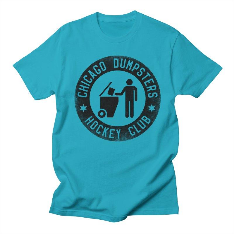 Dumpster Hockey 4 Life Women's Unisex T-Shirt by Billy Carlson