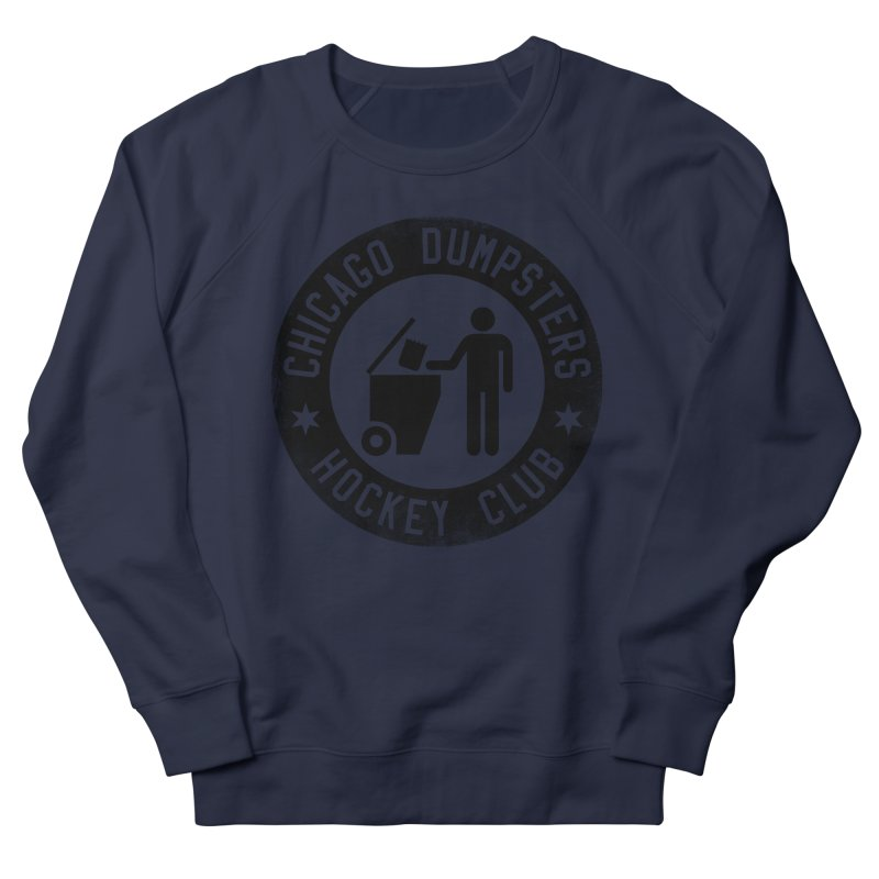 Dumpster Hockey 4 Life Men's Sweatshirt by Billy Carlson