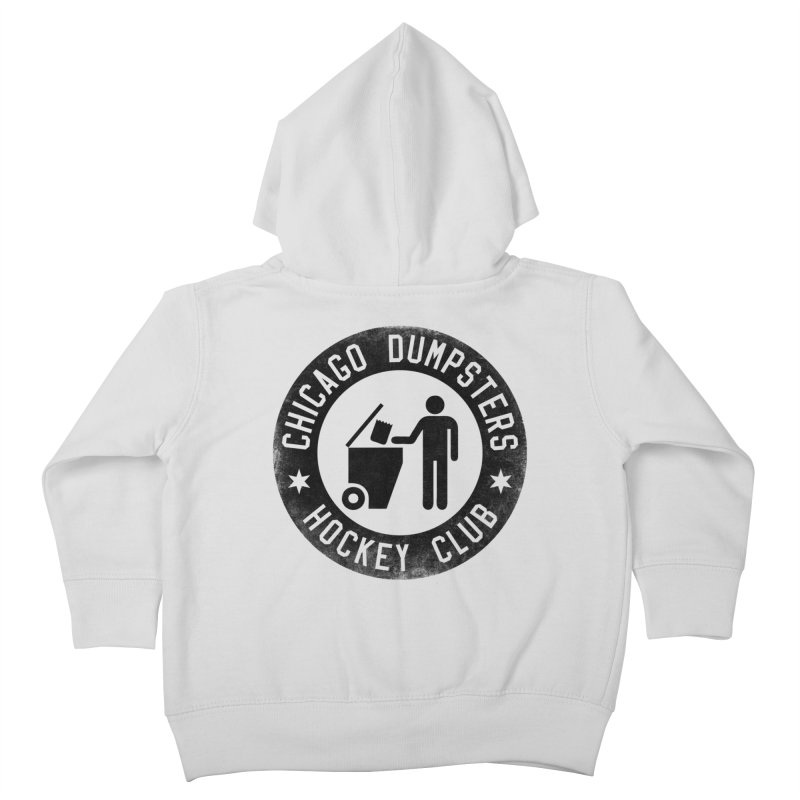 Dumpster Hockey 4 Life Kids Toddler Zip-Up Hoody by Billy Carlson