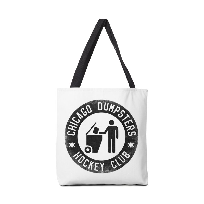 Dumpster Hockey 4 Life Accessories Bag by Billy Carlson