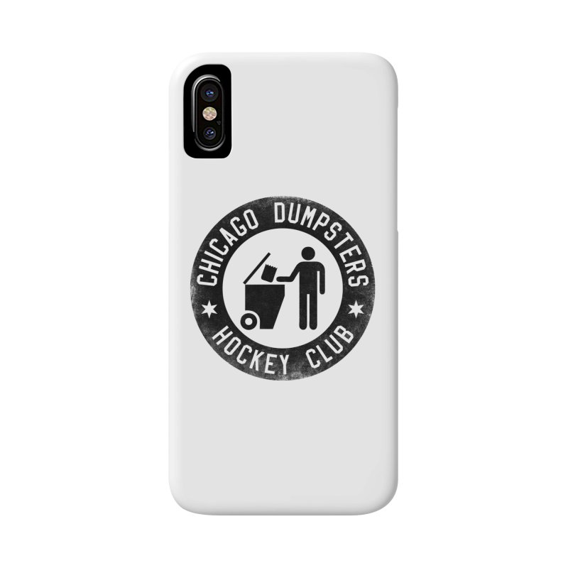 Dumpster Hockey 4 Life Accessories Phone Case by Billy Carlson