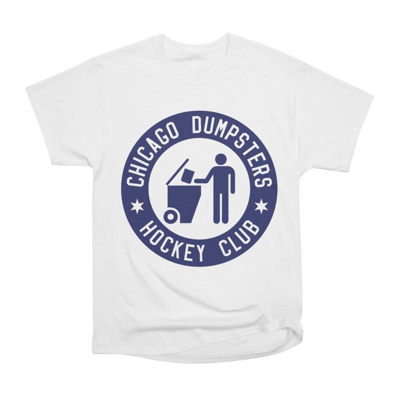 Dumpster Hockey 4 Life Men's Classic T-Shirt by Billy Carlson