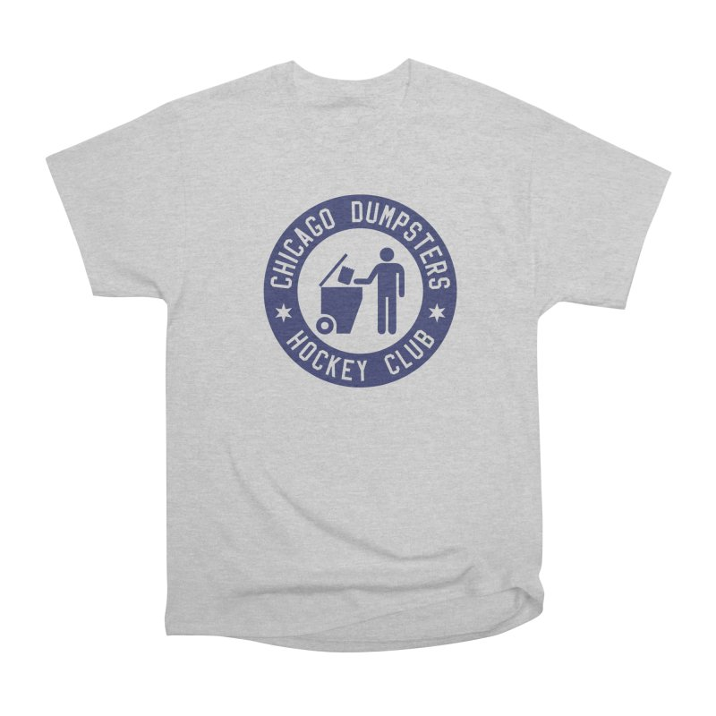 Dumpster Hockey 4 Life Men's Classic T-Shirt by Billy Carlson