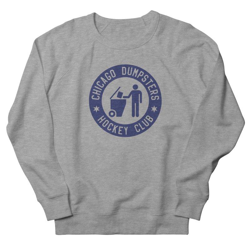 Dumpster Hockey 4 Life Men's Sweatshirt by Billy Carlson