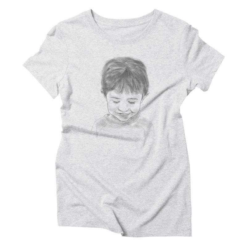 Will Carlson Women's Triblend T-Shirt by Billy Carlson