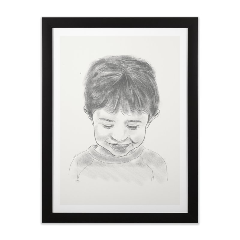 Will Carlson in Framed Fine Art Print Black by Billy Carlson