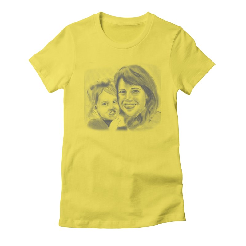 Mama Daughter Day Women's Fitted T-Shirt by Billy Carlson