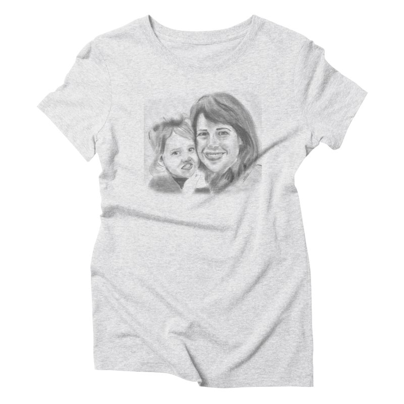 Mama Daughter Day Women's Triblend T-Shirt by Billy Carlson