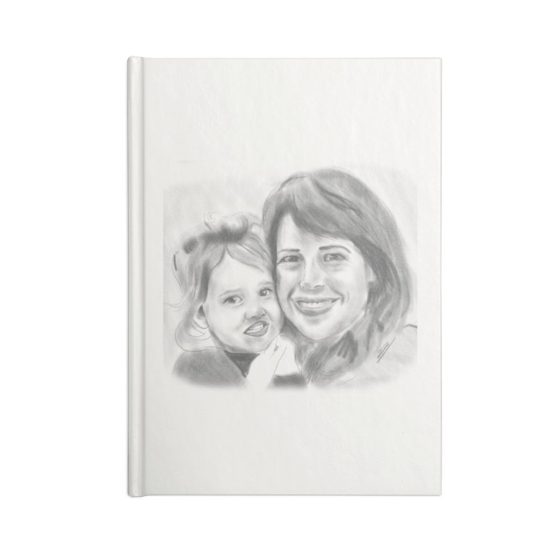 Mama Daughter Day Accessories Notebook by Billy Carlson