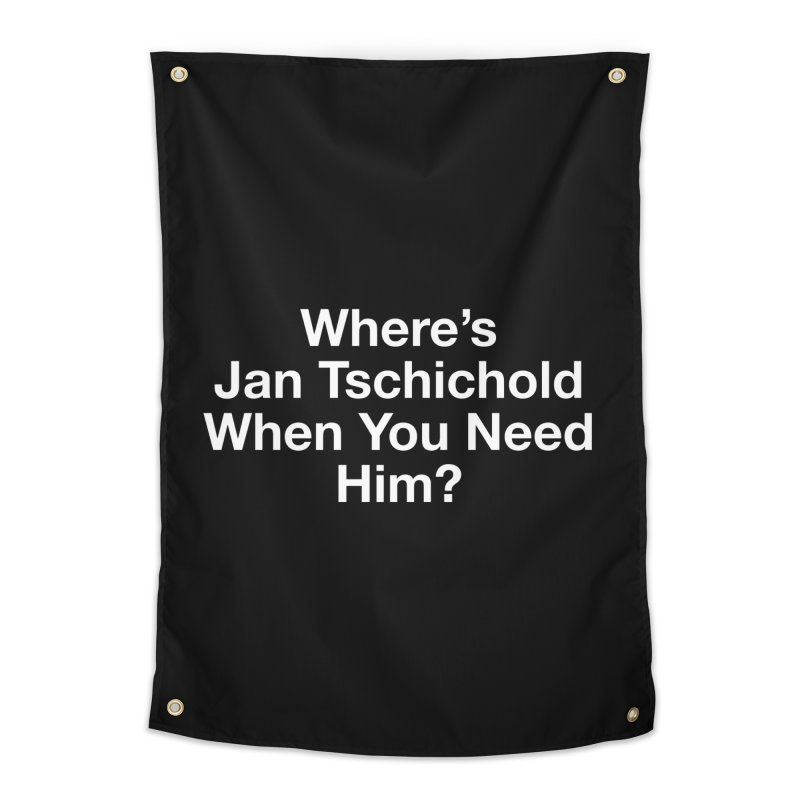 jan tschichold white Home Tapestry by Billy Carlson