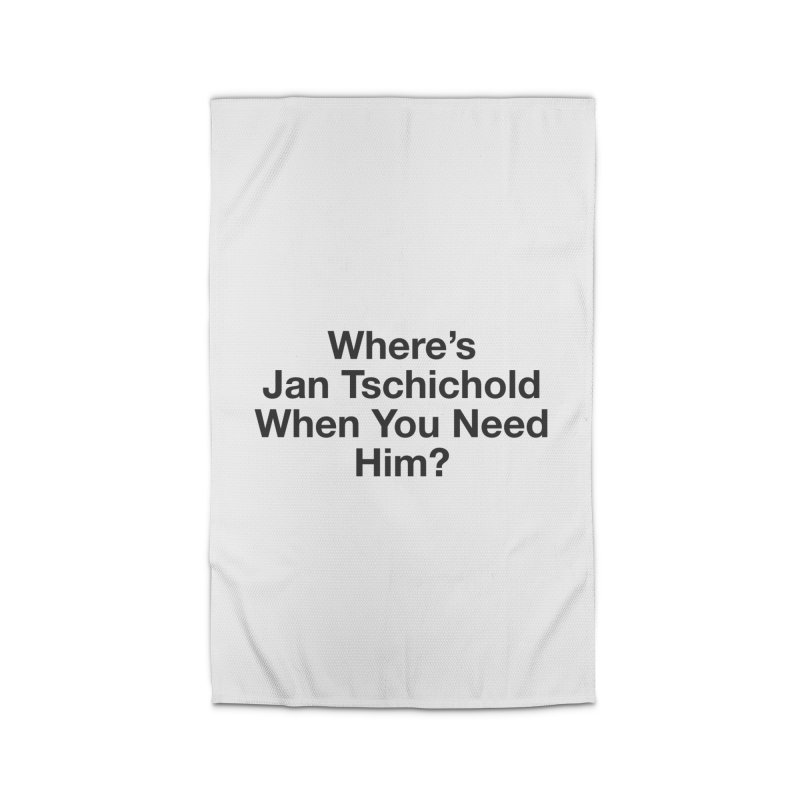 Jan Tschichold Home Rug by Billy Carlson