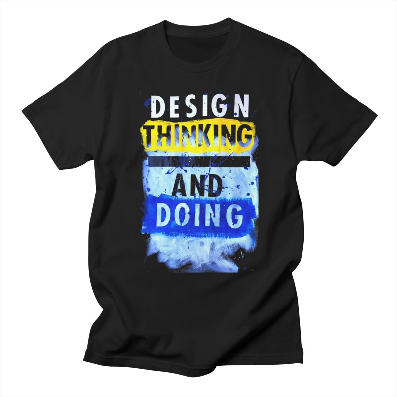 Design Thinking and Doing Winter 2018 Men's T-Shirt by Billy Carlson