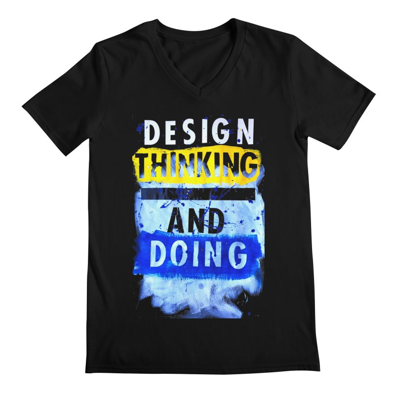 Design Thinking and Doing Winter 2018 Men's V-Neck by Billy Carlson