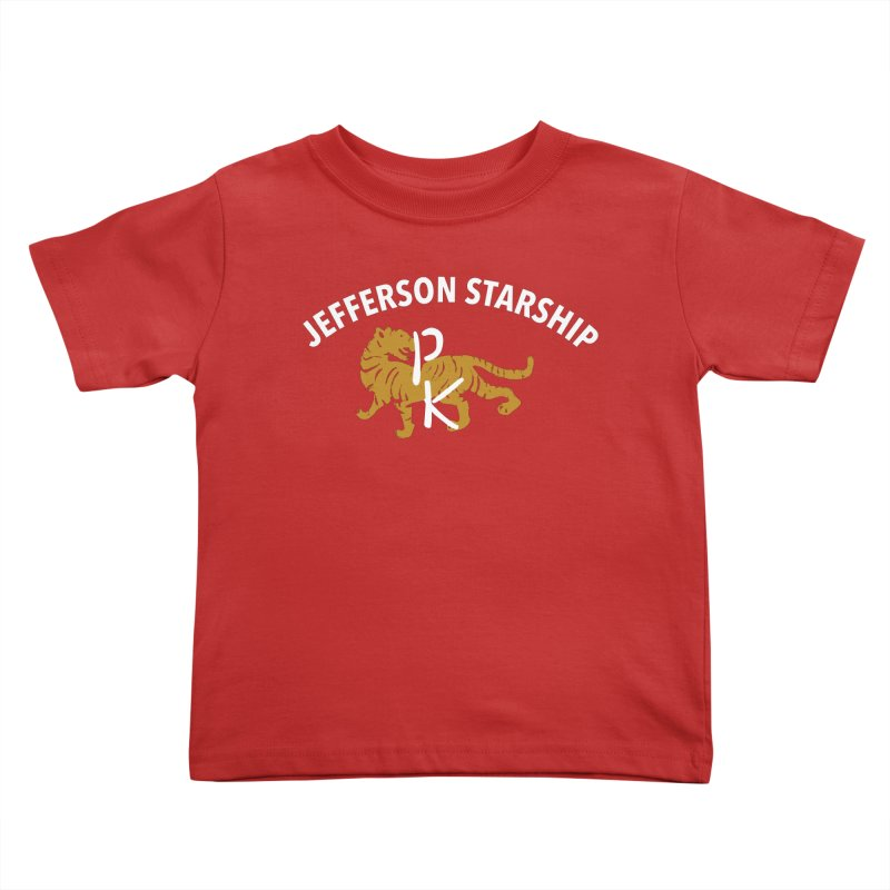 Gold Tiger Kids Toddler T-Shirt by Billy Carlson