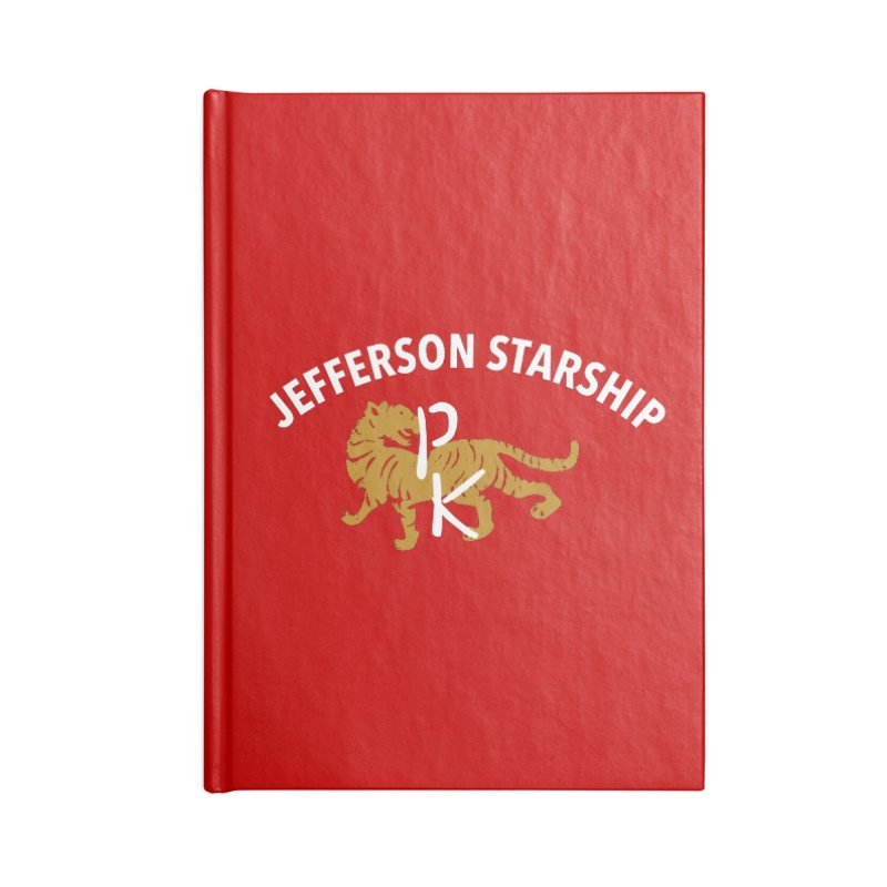 Gold Tiger Accessories Notebook by Billy Carlson