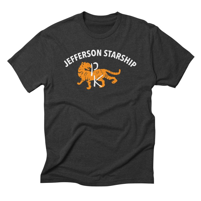 Gold Tiger Men's Triblend T-Shirt by Billy Carlson