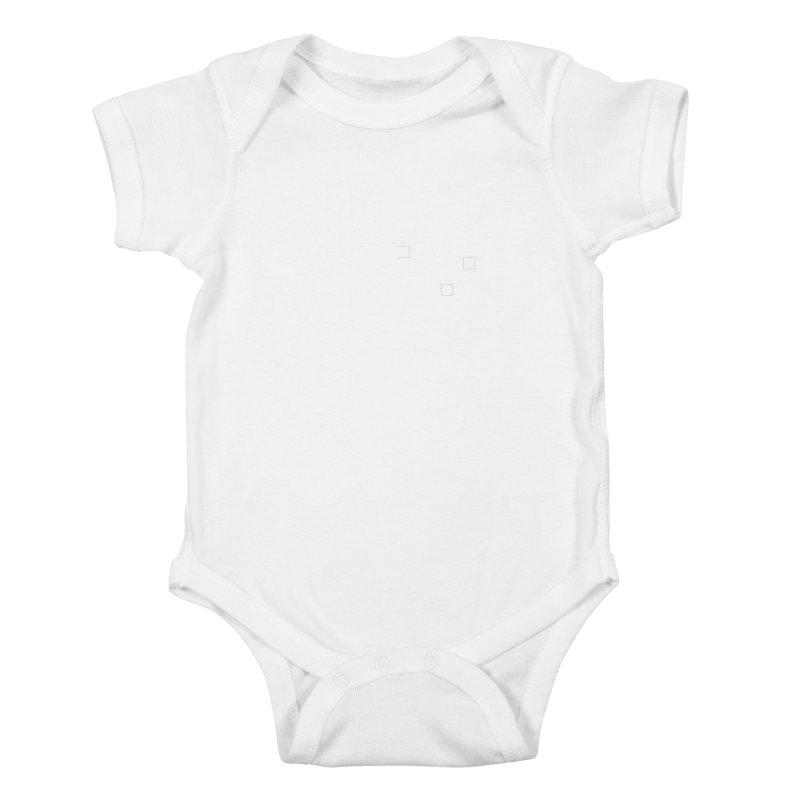 Blanks Kids Baby Bodysuit by Billy Carlson