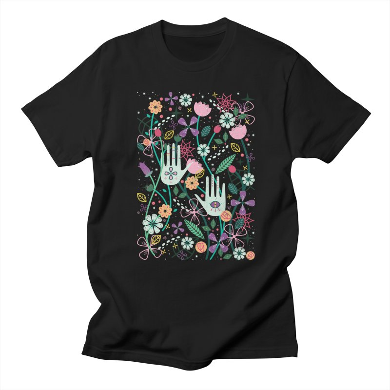 Botanical Hands  Men's T-shirt by carlywatts's Shop