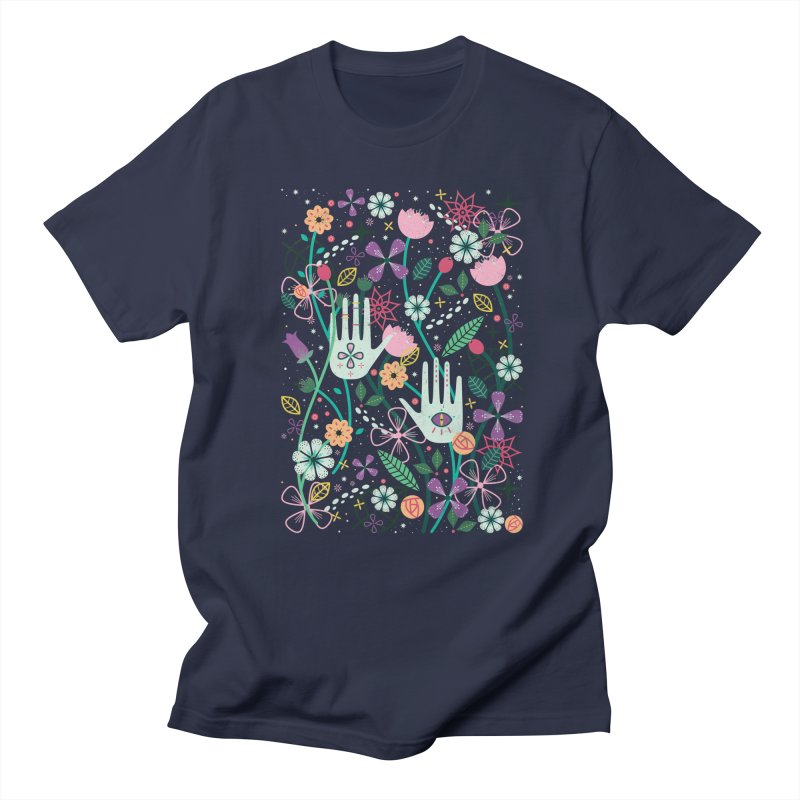 Botanical Hands Men's Regular T-Shirt by carlywatts's Shop