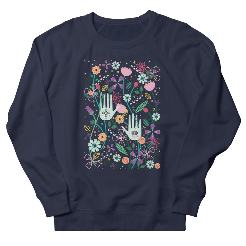Botanical Hands  Men's Sweatshirt by carlywatts's Shop