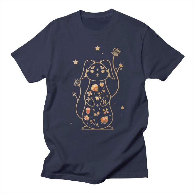 The Autumn Rabbit  Women's Unisex T-Shirt by carlywatts's Shop