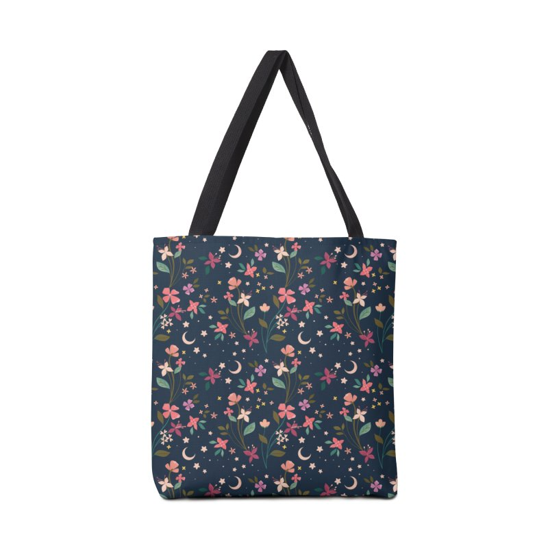 Night Blossoms Accessories Tote Bag Bag by carlywatts's Shop