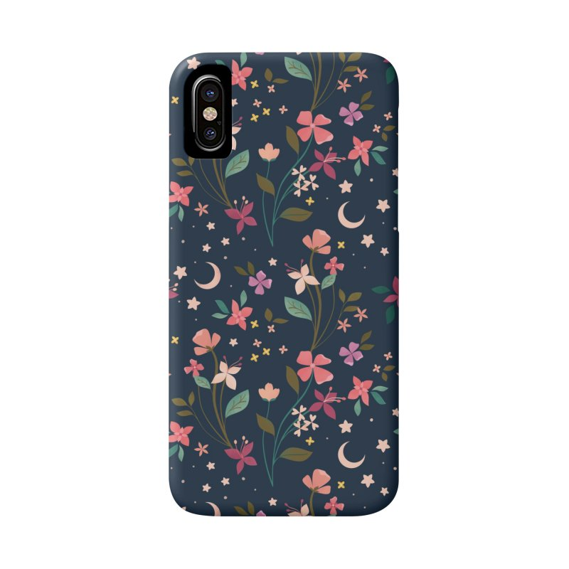 Night Blossoms Accessories Phone Case by carlywatts's Shop