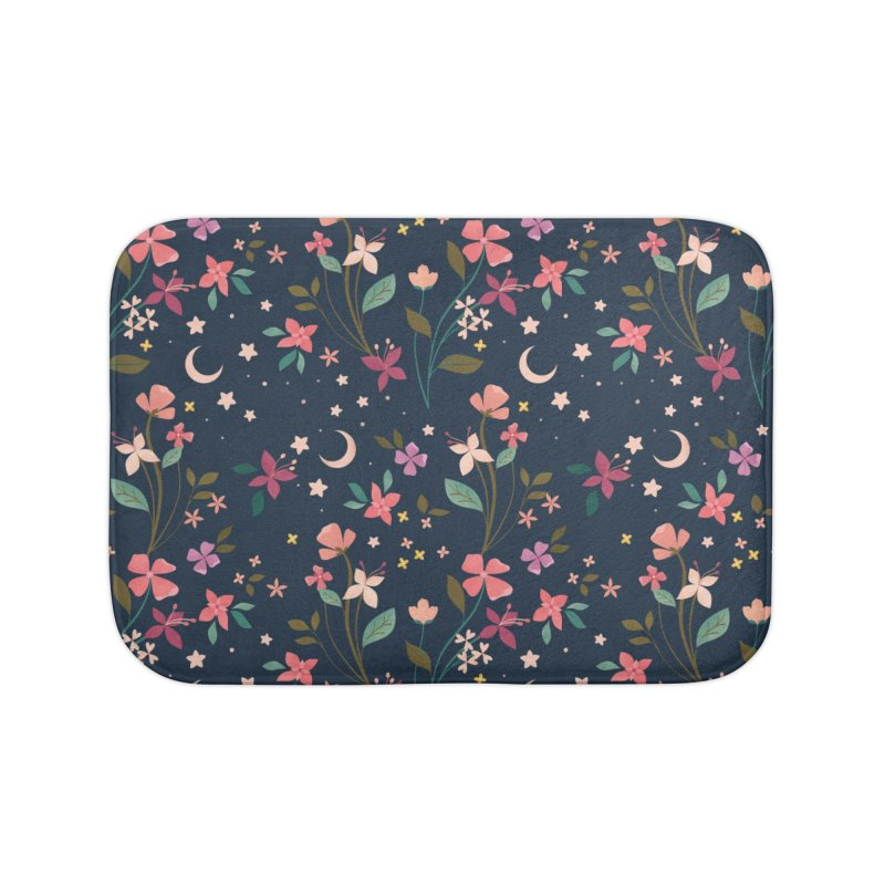 Night Blossoms Home Bath Mat by carlywatts's Shop